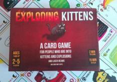 Bộ bài Mèo Nổ – Exploding Kittens mini bản đỏ 7+