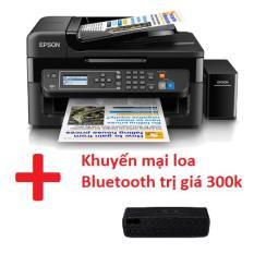 Máy in phun màu Epson L565 đa chức năng (Wifi/ Copy/ Scan/Fax) đã có mực Hàn Quốc bên trong bộ dẫn + khuyến mại loa Bluetooth trị giá 300k