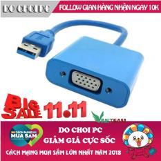 Cáp chuyển đổi tín hiệu USB sang VGA