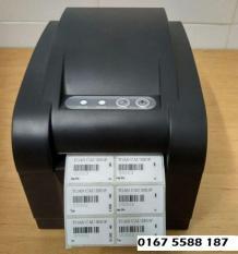 TẶNG CUỘN TEM Máy in tem mã vạch Xprinter XP350b