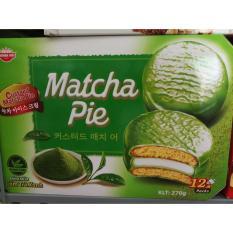 Bánh Matcha Pie hộp 12 cái