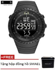 Đồng hồ điện tử thể thao nam SMAEL dây Silicon PKHRSM003