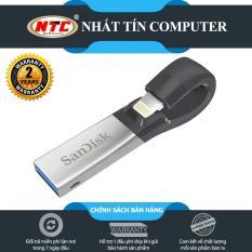 USB 3.0 OTG SanDisk iXpand 128GB dành cho Iphone / Ipad (Bạc) – Nhất Tín Computer