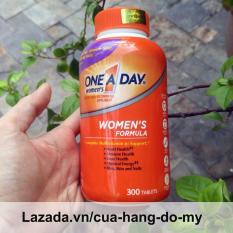 Viên uống Vitamin Tổng Hợp Cho Nữ One A Day Women's Multivitamin Formula Của Mỹ, 300 viên, Mẫu mới