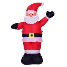 Mô hình ông già Noel bơm hơi cao 1.2m (Đỏ)