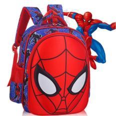 Ba lô siêu nhân người nhện 3D cho bé đi học,