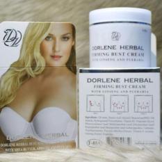 Kem nở ngực Dorlene Herbal giúp bộ ngực căng tròn, săn chắc. Hàng Thái Lan