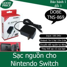 Bộ sạc nguồn cho Nintendo Switch 5v-1.5a, 15v-2.6a – DOBE TNS-869