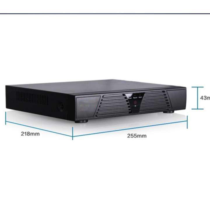 Đầu ghi camera 4 kênh NVR IP , quản lý các mắt camera IP, wifi, hik, dahua