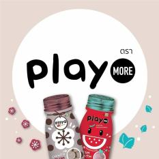 Combo x 2 Kẹo Play More vị dưa hấu và vị xí muội