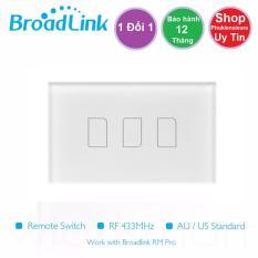 Công tắc cảm ứng, điều khiển từ xa Broadlink TC2 chuẩn US – 3 phím – Bảo hành 12 tháng lỗi 1 đổi 1