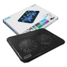 de tan nhiet laptop N130 cho laptop 15in -17 in hổ trợ 2 quạt hút nhiệt cho mọi dòng laptop