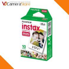 Film cho máy ảnh Fujifilm Instax Mini chính hãng (hộp 10 tấm) – độ bền lên tới 40 năm – Hãng phân phối chính thức
