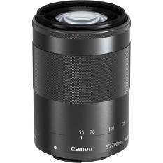 Lens Canon EF-M 55-200mm f/4.5-6.3 IS STM Lens (Black)