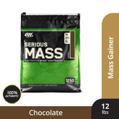 Thực phẩm bổ sung Optimum Nutrition Serious Mass Chocolate 12 lbs