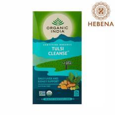 Trà tulsi giải độc gan thận Organic India Tulsi Cleanse – hebenastore