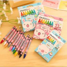 Hộp bút sáp màu AiHao 64 món cho bé yêu thỏa sức sáng tạo