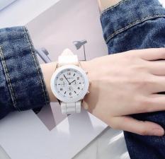 Đồng hồ nữ Geneva R3 thời trang trẻ dây Silicone bền bỉ (trắng)(Cập nhật 2019)