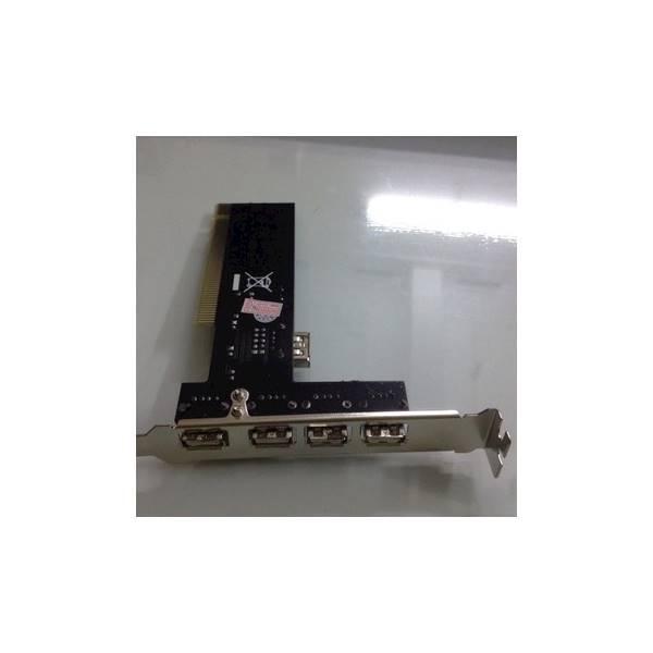 Card PCI Ra 4 Cổng USB 2.0