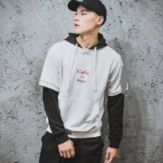 Áo khoác hoodie nam phong cách Hàn Quốc sành điệu
