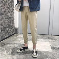 Quần Chinos Kaki Nam Trơn Ống Suông Kiểu Mặc Sắn Gấu Năng Động NTD fashion MEN QUAN 800018 KHA