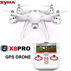 Máy bay flycam Syma X8 Pro (Syma X8 Pro) – Có GPS, tự động quay về, camera truyền trực tiếp- Bảo hành 3 tháng