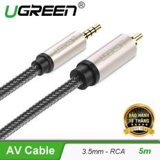 Cáp Audio 3.5mm digital sang RCA Coaxial dài 5M UGREEN AV132 20735 – Hãng phân phối chính thức