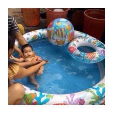 Bể bơi mini bao gồm cả bóng và phao bơi cho bé – bể Bơi Phao 3 Chi TIết Kèm Bóng Và Phao Bơi Cho Bé – Bể phao cầu vòng kèm bóng và phao – đồ dùng sinh hoạt cho bé – đồ chơi vận động cho bé – hồ phao cao cấp – đồ chơi cho bé ngày hè