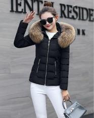 áo khoác phao nữ nón lông