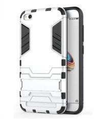 Giá sốc Ốp lưng chống sốc Iron Man dành cho Xiaomi Redmi 5A (Bạc) Tại Smartbuys
