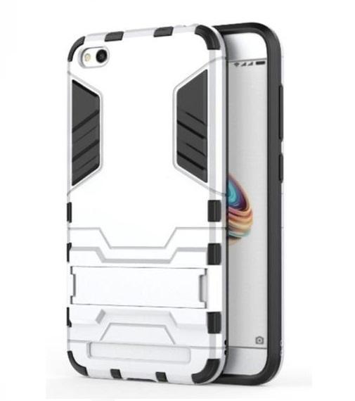 Ốp lưng chống sốc Iron Man dành cho Xiaomi Redmi 5A (Bạc) Đang Bán Tại Smartbuys