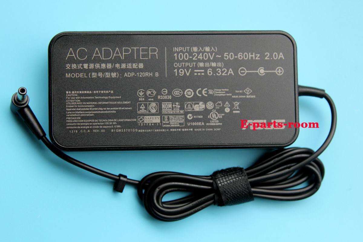 Sạc laptop asus 19V-6.32A Đầu Thường