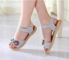 sandal cho bé gái đi học chống trượt HQ-02 phong cách hàn quốc