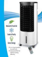 [Giá bùng nổ sinh nhật] Quạt điều hòa không khí Rapido Model RAC130-D (diện tích sử dụng: 15-20m2). Quạt hơi nước – Midea Mart