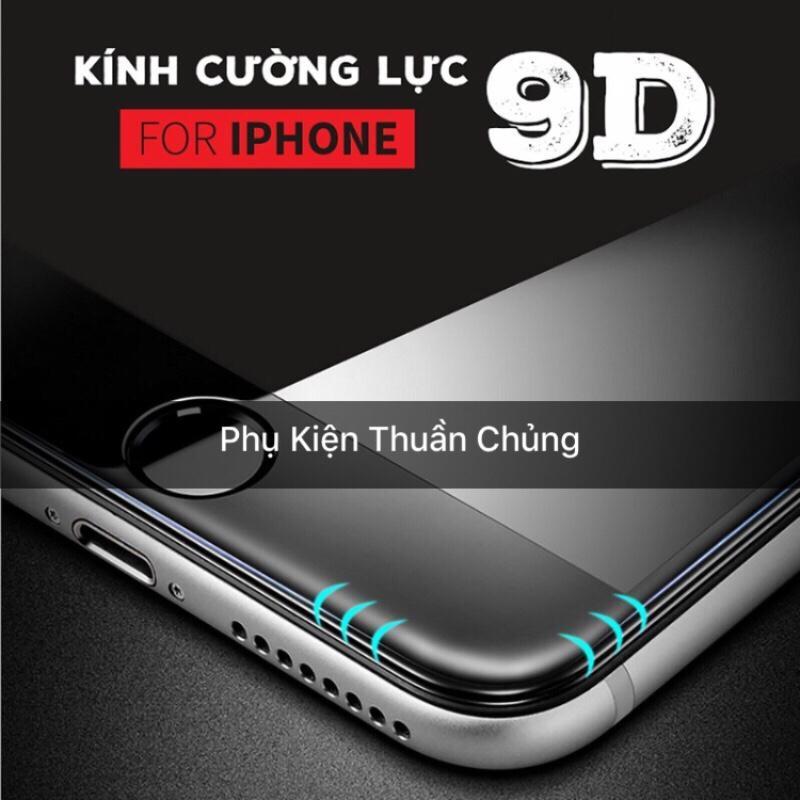 Giá Kính cường lực 9D full màn hình Iphone 6,6s,7,8,x,6p,6sp,7p,8p,X trắng Tại Linh kiện apple thuần chủng