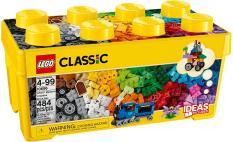 Thùng Gạch Trung Classic Sáng Tạo – LEGO Classic 10696 (484 Chi Tiết)