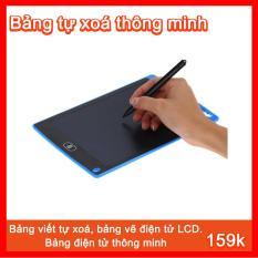 Bảng viết, bảng vẽ điện tử LCD tự xoá thông minh, 8.5 inch, Pin dùng 2 năm.Giúp bạn ghi chú việc quan trọng , hay để trẻ em ở nhà học tập. Làm qùa tặng cho bé thật ý nghĩa