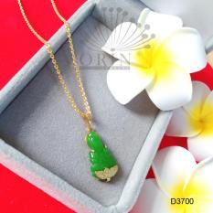 Dây chuyền mặt Phật đá xanh thiết kế cao cấp Orin D3700