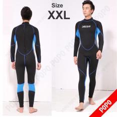 Bộ đồ lặn, quần áo lặn biển SEAC 2.5mm giữ ấm, thoáng khí, chống thầm nước cao cấp POPO Collection