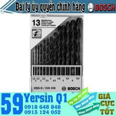 Bộ 13 mũi khoan Bosch HSS-R 2609200201