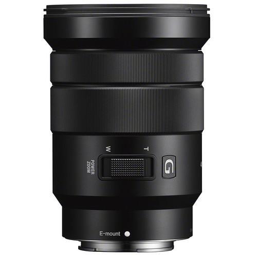 Ống kính Sony SELP18105 E PZ 18-105 mm F4 (Đen) - Chính Hãng