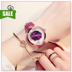 Đồng hồ nữ GUOU 8039 DD thiết kế đơn giản, sang trọng, phong cách