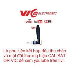Phụ kiện kết nối wifi xem youtube trên đầu thu CALISAT ,VIC của công ty ƯNG BÌNH CHÂU