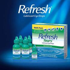 Thuốc nhỏ mắt Refresh Tears Lubricant Eye Drops Combo 4 chai x 15ml + 1 chai x 5ml