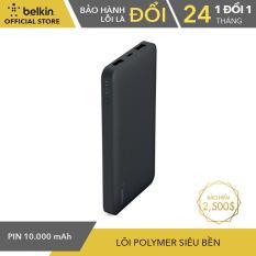 Pin Sạc Dự Phòng 10000 mah Belkin F7U020btBLK 2 Cổng