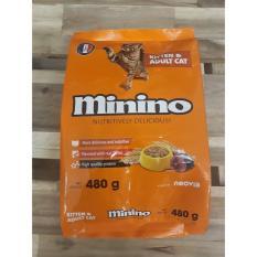 Combo 10 Gói Thức Ăn Cá Ngừ Cho Mèo Minino Của Pháp 480G