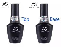 Sơn gel Bám – Top Lì AS 15ML (dành cho tiệm nail chuyên nghiệp)