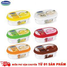 Bộ 6 hôp kem Vinamik 450ml các vị Sầu Riêng – Socola – Khoai Môn – Dừa – Dâu – Vani