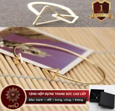 Bộ Trang Sức Bạc Double Tam Giác Hàn Quốc CB03 – RedD Shop