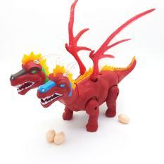Hộp đồ chơi khủng long rồng có cánh 2 đầu đẻ trứng Dinosaur – ĐỒ CHƠI CHỢ LỚN